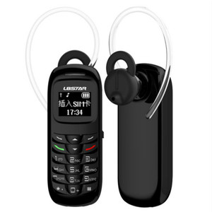 BM70 GSM Earbud Stype Mini Cell Phone