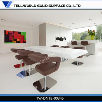 Diseño italiano de alto brillo mesa comedor, mesas comedor hogar ...