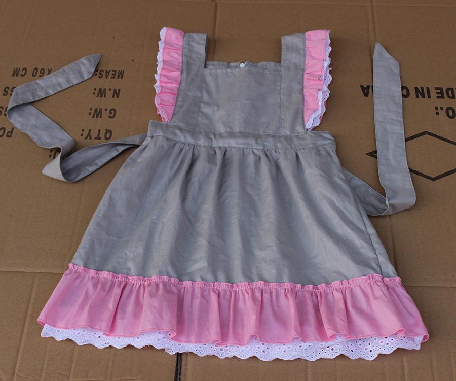 Newest 100% Cotton 2015 New Design Baby Girls Party Dress Children ...