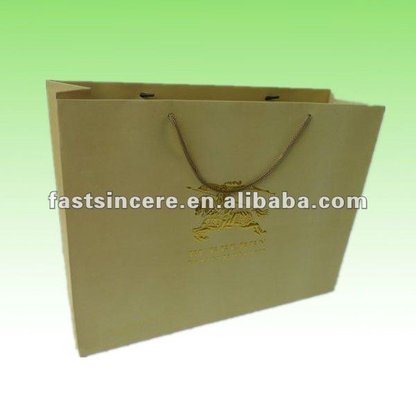 paper carrier gift bags with rope