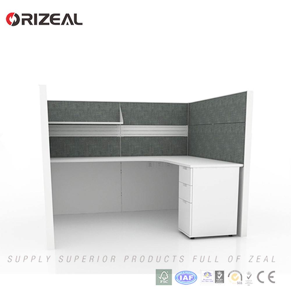 Modern Design U Shaped Office Desk Partition Workstation Private Cubicle  For One Person - Buy U Shaped Office Desk Cubicle,Call Center Office ...