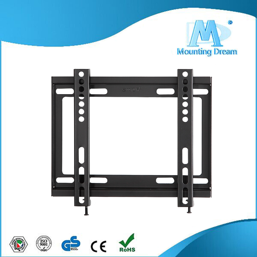 china supplier fixed plasma tv wall mount led tv brackets support 26-42 inch screen