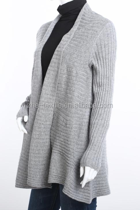 100 kaschmir pullover damen lange offene strickjacke. Black Bedroom Furniture Sets. Home Design Ideas