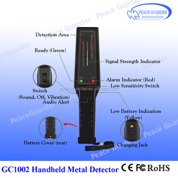 Mini Handheld metal detector Portable Full body scanner for security check GC1002