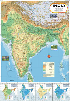 India Physical Map Buy India Physical Map Product on Alibabacom