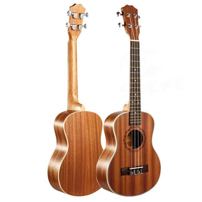 21 inches, 23 inches, 26 inches mahogany ukulele hawaii guitar with edges