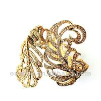 2012 The Hottest Gorgeous Jewelry Best Gift for Christmas Excellent Quality Crystal Cuff Bracelet