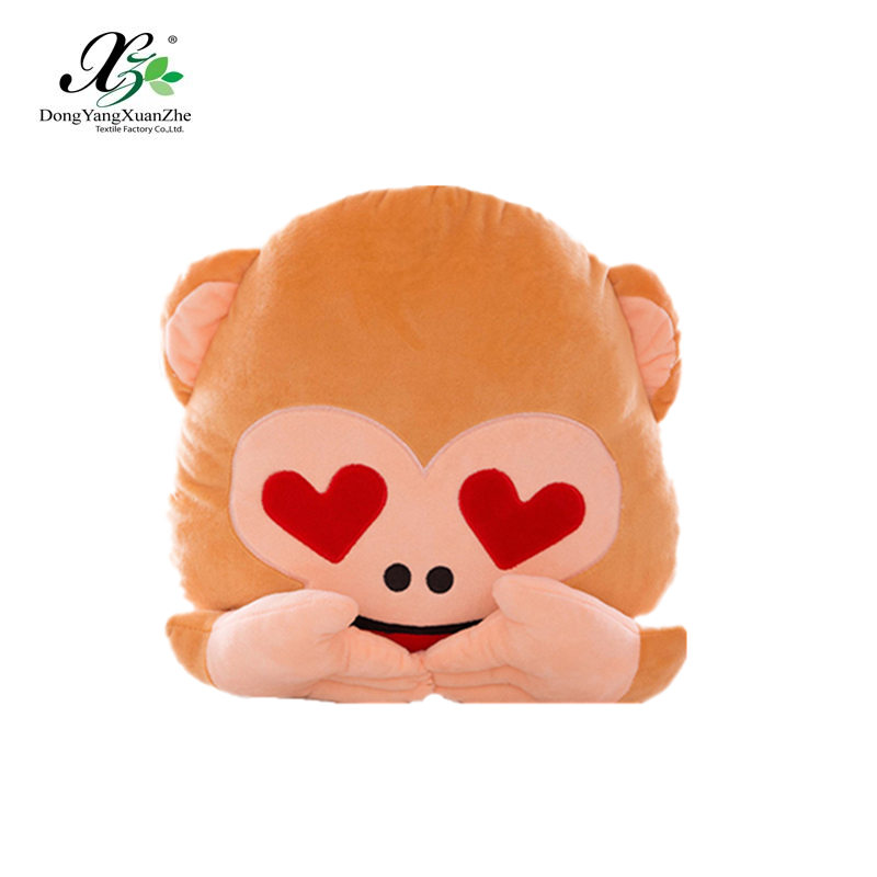 Hot products soft gift monkey pillow