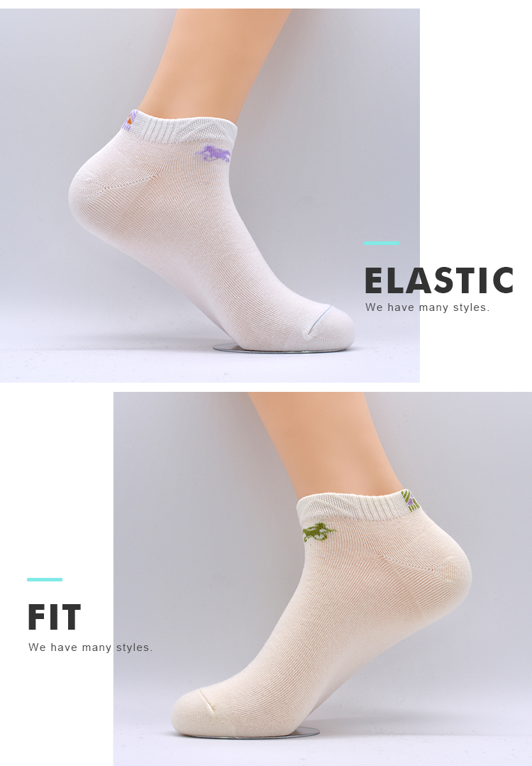 Wholesale Custom Plain Women Colorful Design Teen Young Teenage Girls Sport Wearing Ankle Socks