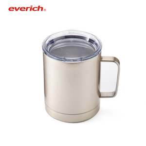 Everich 10oz double wall stainless steel white tumbler sublimation mug supplier