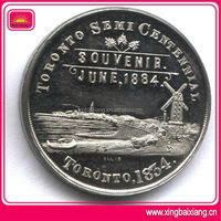 Customized collector thai singapore souvenir commemorative coin