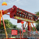 Outdoor amusement park rides adults extreme games top spin rides for sale