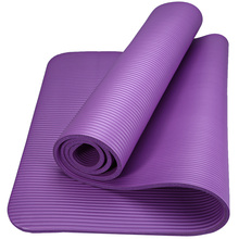 Oefening <span class=keywords><strong>Eco</strong></span> <span class=keywords><strong>vriendelijke</strong></span> custom logo extra dikke <span class=keywords><strong>sport</strong></span> fitness NBR yogo mat