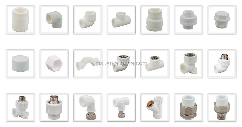 Ga brand pert plastic hot water under floor heating pipe for Types of plastic water pipe