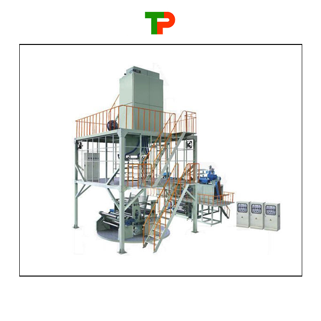 Three layer co-extrusion POF film production line