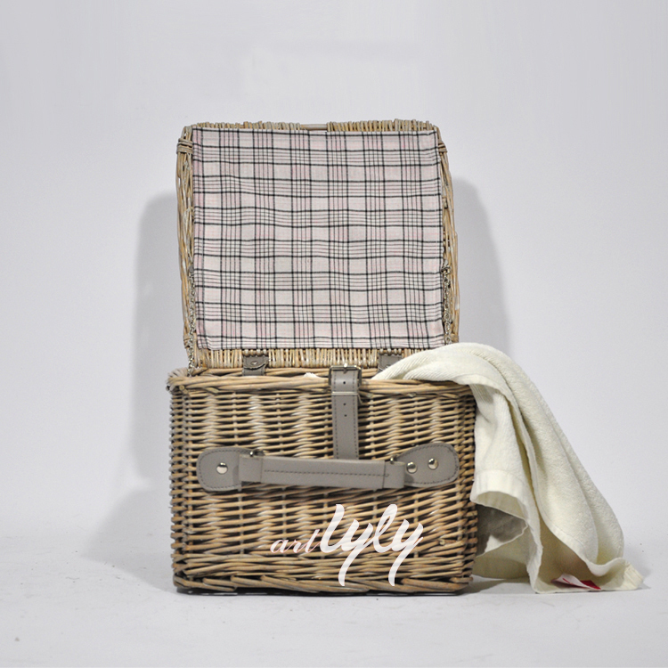 New Cheap Natural Wicker Storage Basket With Lids Wholesale Buy
