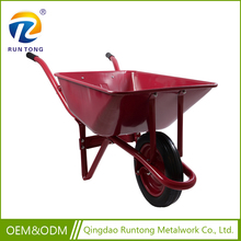 Metal wheel barrow WB2203