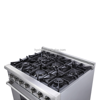 Freestanding 30 inch gas stove 4 burner oven