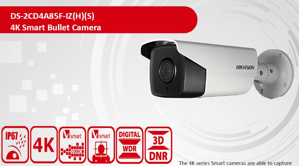 Hikvision 4k Camera Cctv Face Detection Camera Bullet Ip