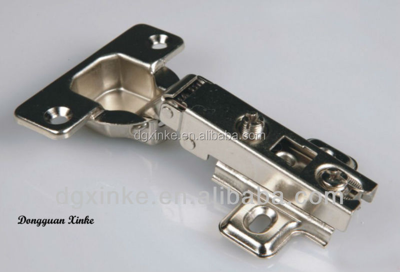 Kitchen concealed hinge stainless steel stamping soft closing hinge