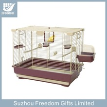 Plastic Tray Folding Metal Wire Pet Cages