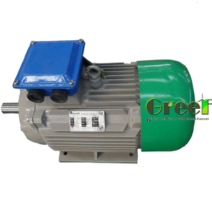 50kw to 5000KW Low Rpm Three Phase AC Synchronous Permanent Magnet Generator/Alternator for wind and hydro energy