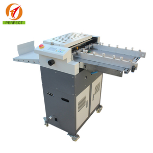 Automatic Adhesive Sticker Half Cutting / Creasing / Perforating Machine