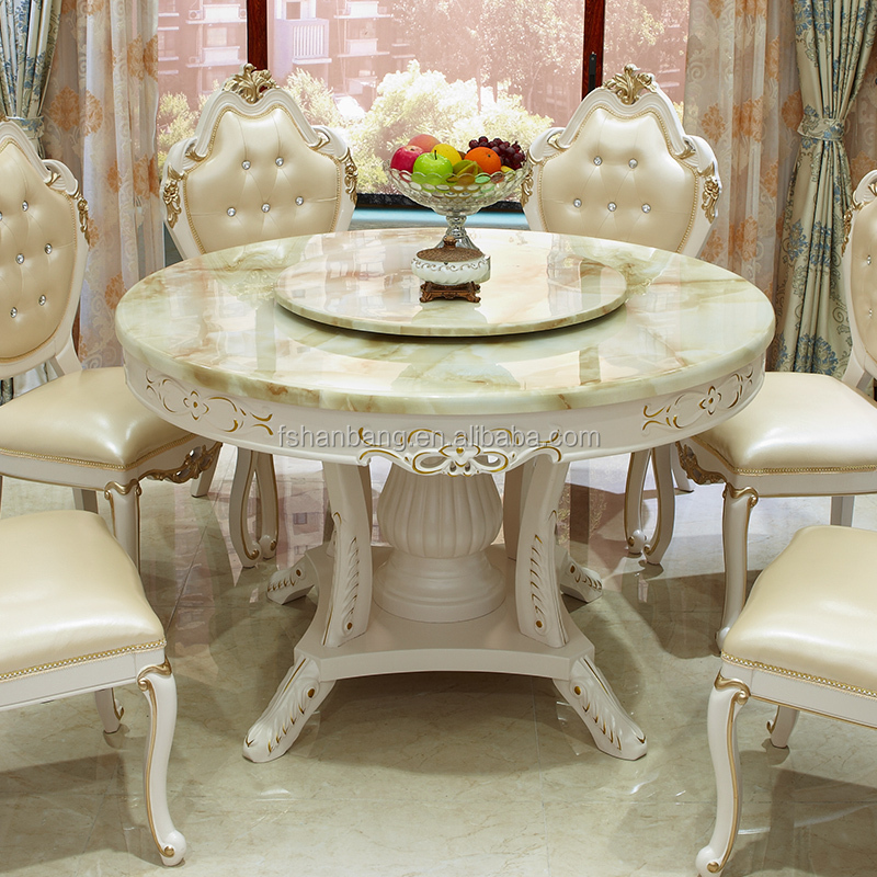 Modern Luxury Marble Top 6 Seat Dining Table Set Product On Alibaba