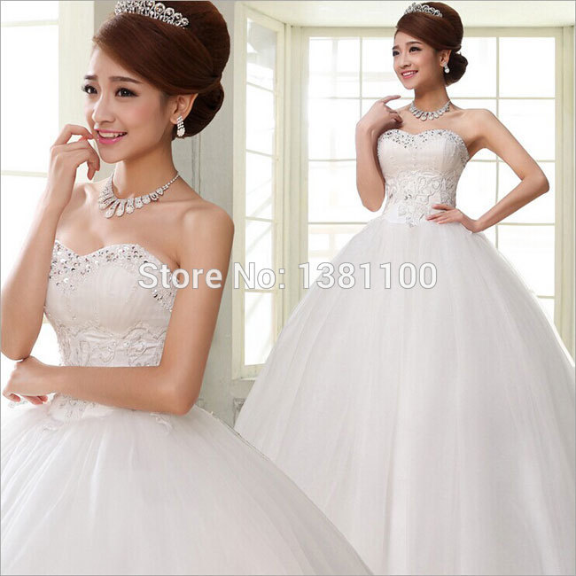 diamond top wedding dress - photo #39
