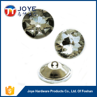 Different Type Crystal Glass Acrylic Sofa Button, Decorate Crystal Home Button
