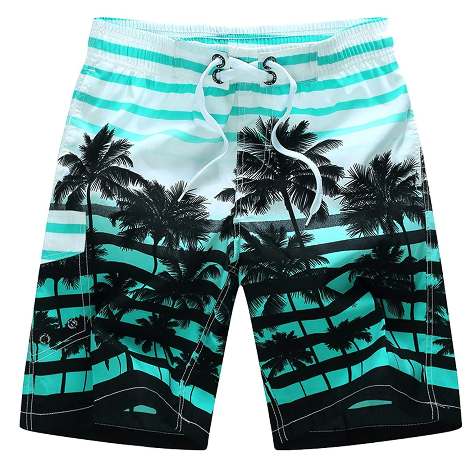 881e683458 Get Quotations · Puedo Summer Shorts, Men Quick Dry Swim Trunks Cargo Water  Shorts with Mesh Lining Casual