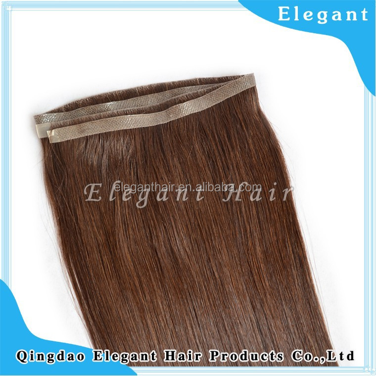 Indian virgin hair Super tape Thin skin hand tied hair extension