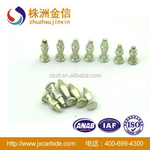 10-11mm new tyre factory in china Special customed car tire studs