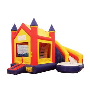 Home use PVC Oxford cloth Inflatable Jumping Castle Bounce Bouncer bouncy with slide