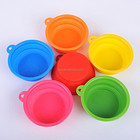 Colorful Pet Large Food Bowl,Lifted Dog Food Feeding Water Filtering Carrier Bowl
