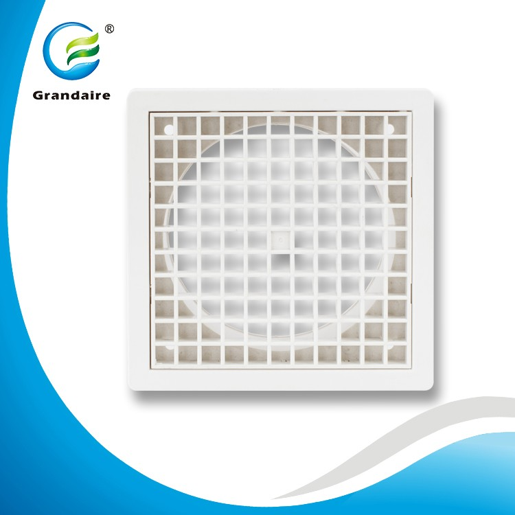 HVAC System Plastic Grille Air Grille Cover with a removable Core