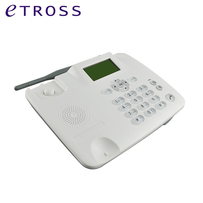 F316 gsm sim card landphone landline phone with fixed wireless table