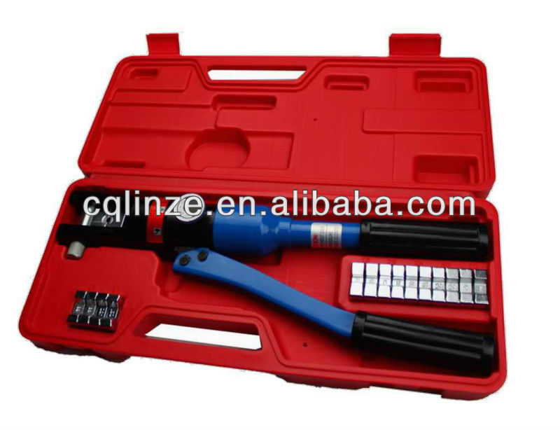120sqmm hydraulic cable lug crimping tools flag terminal crimping tool
