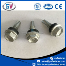China Manufacturers 8g 10g roof screw 22mm