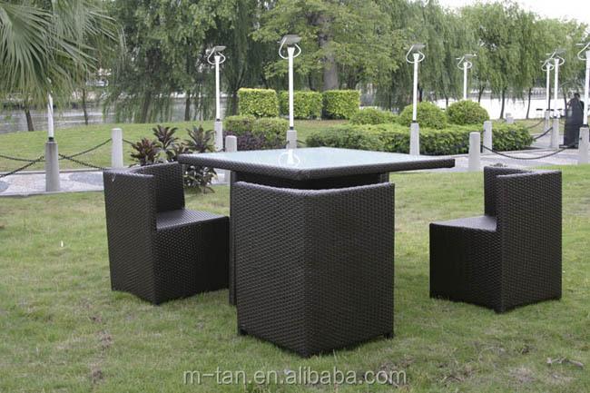 Hermosa Negro Muebles De Mimbre Al Aire Libre Friso - Muebles Para ...