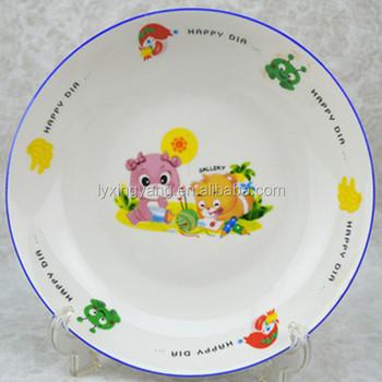 Cheap Kids Porcelain Plates,Wholesale Dinner Plates With Cute Design ...