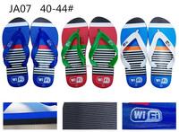 Comfortable white bulk red balck silver blue flip flops for men wedding