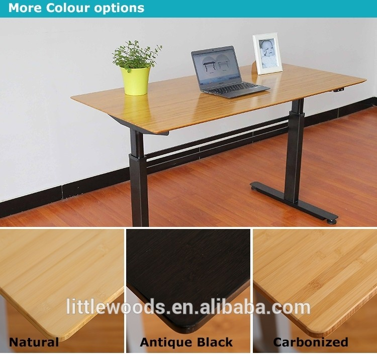 China Electric Elevator Sit To Stand Workstation Desk