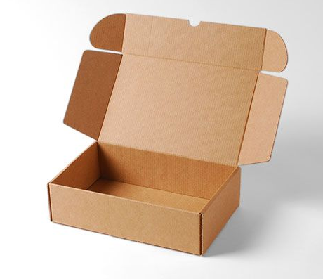 corrugated carton one piece die cut boxes