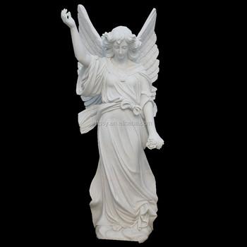 archangel michael slaying the devil stone statue buy archangel