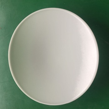 Acrylic Ceiling Lamp Shade Flush Round Fluorescent Light Fixture ...