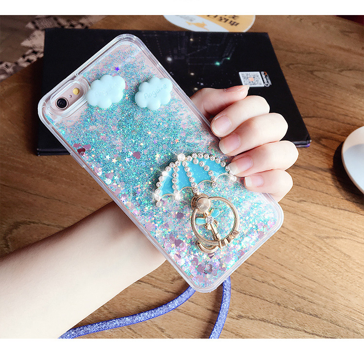 Wholesale Unicorn Soft Silicone 3d phone case for iphone 6&7 Case Cover with tpu material