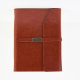 a5 gifts pu leather ring binder notebook with magnet closure