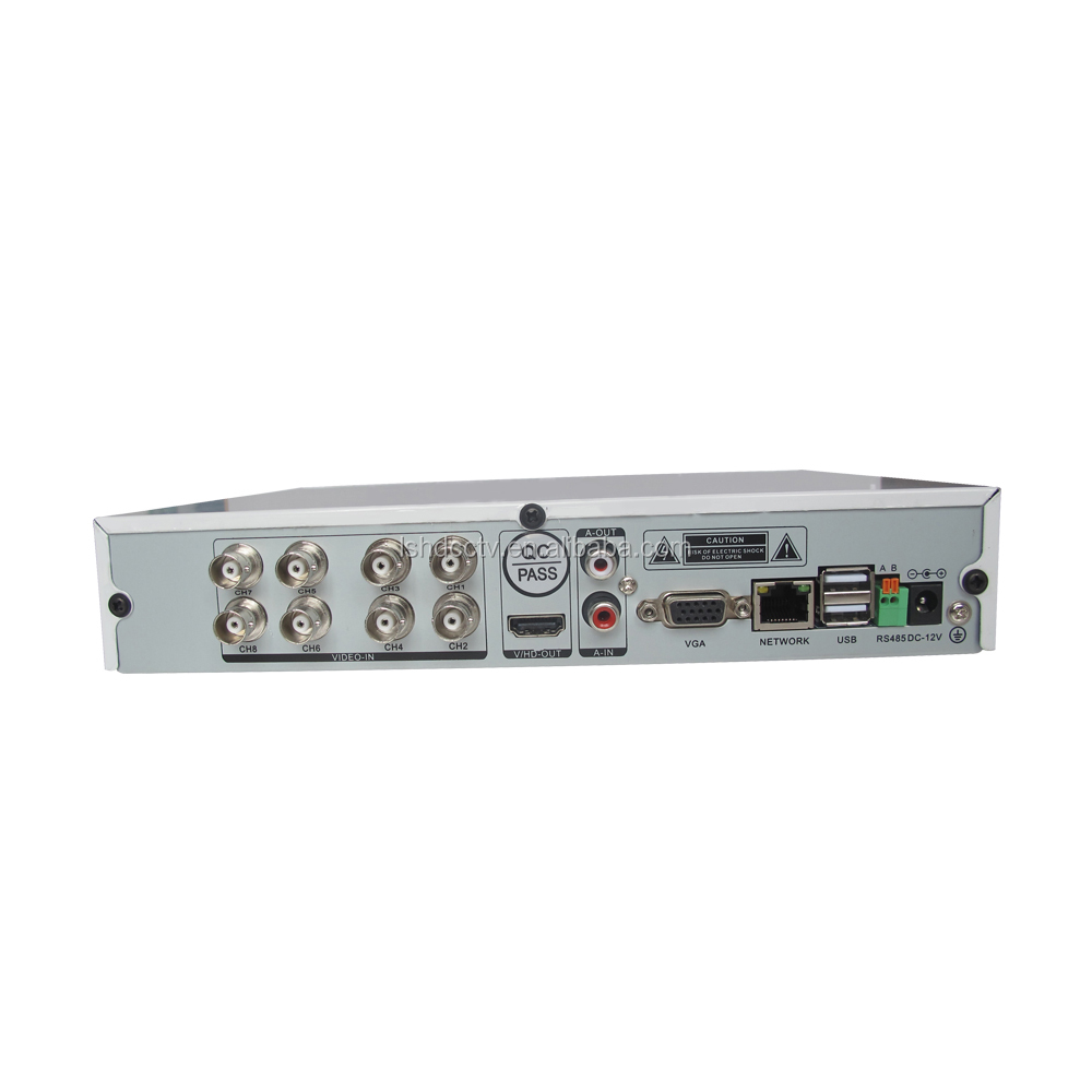 LS Vision High Performance Remote Monitoring 8 Channel 5MP DVR Surveillance System