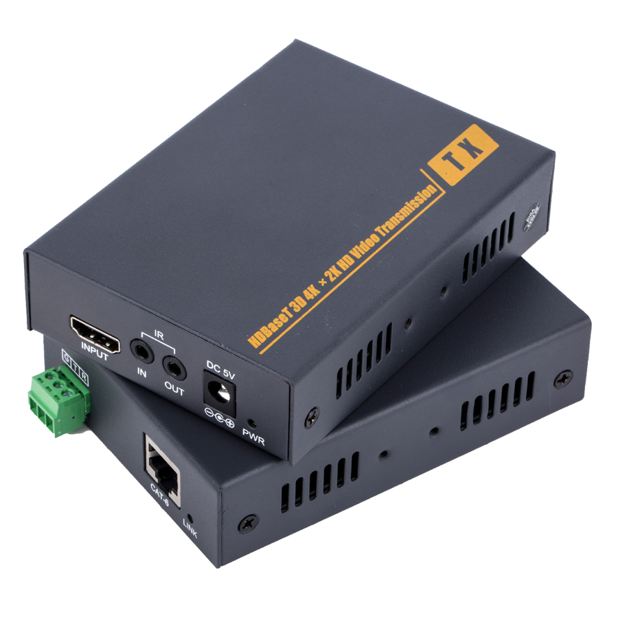 Pinwei PW-HT201H resolution upto 4K2K support 3D RS232 HDCP 100M KVM HDBasT HD extender